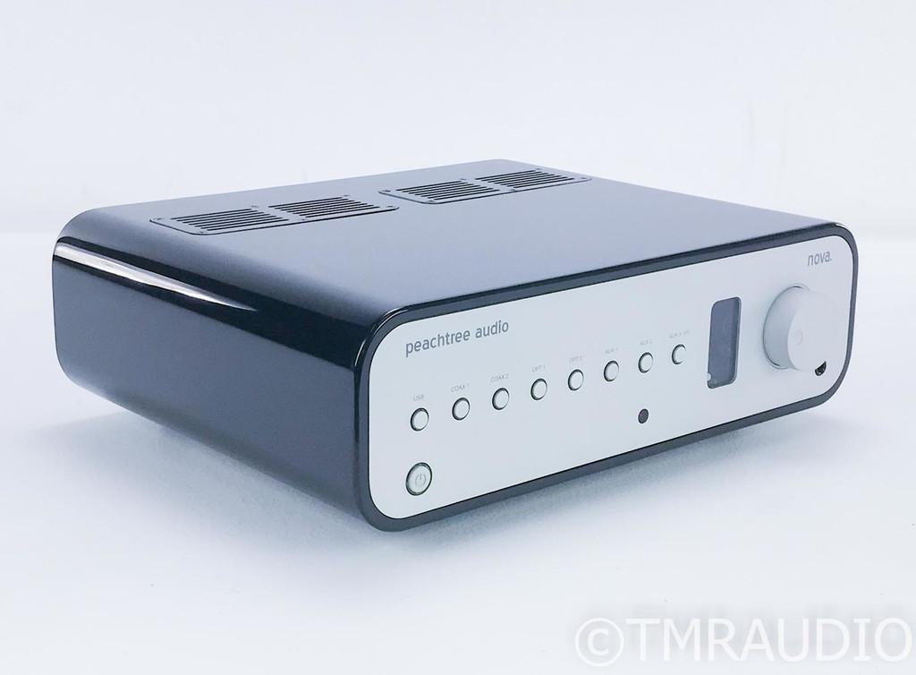 Peachtree Nova Stereo Tube Hybrid Integrated Amplifier; DAC; Remote
