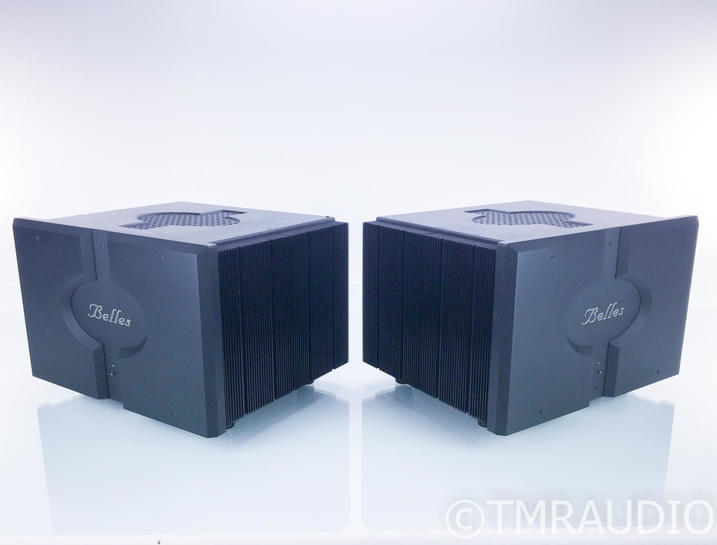 Power Modules / Belles MB500 Mono Power Amplifier; MB-500; Pair