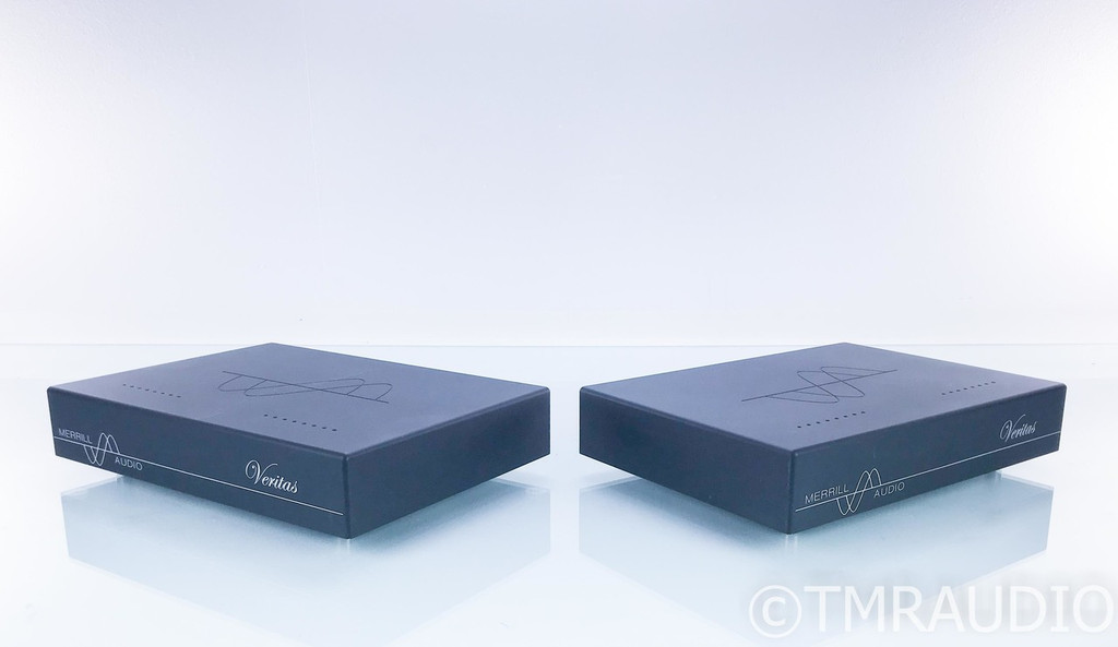 Merrill Audio Veritas Mono Power Amplifier; Black Pair