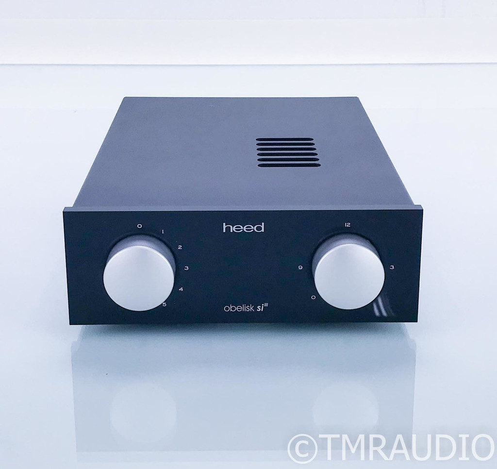 Heed Obelisk SI MkIII Stereo Integrated Amplifier; Mark 3