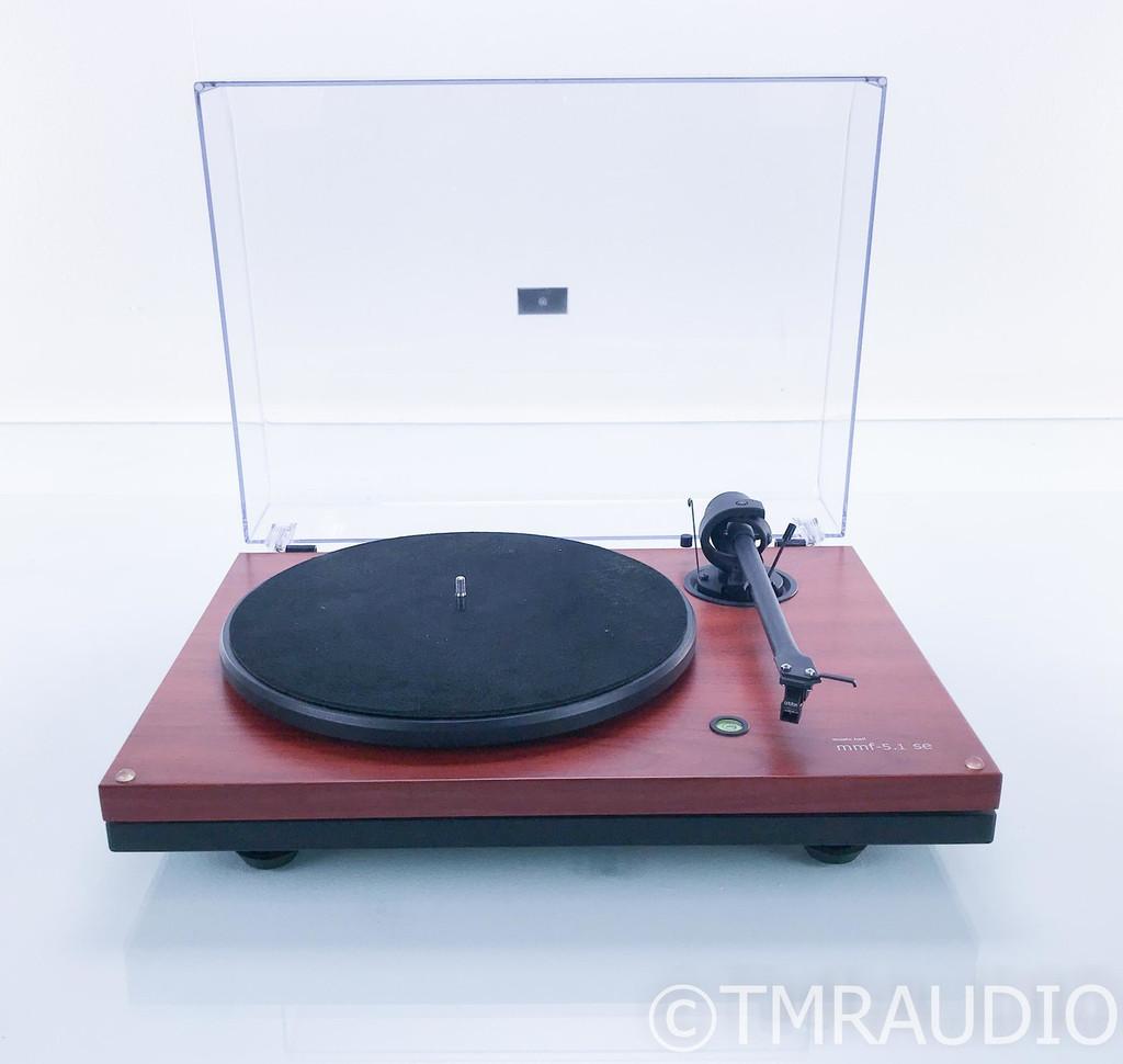 Music Hall mmf-5.1se Turntable; Ortofon Mojo MM Cartridge; Pro-Ject Tonearm