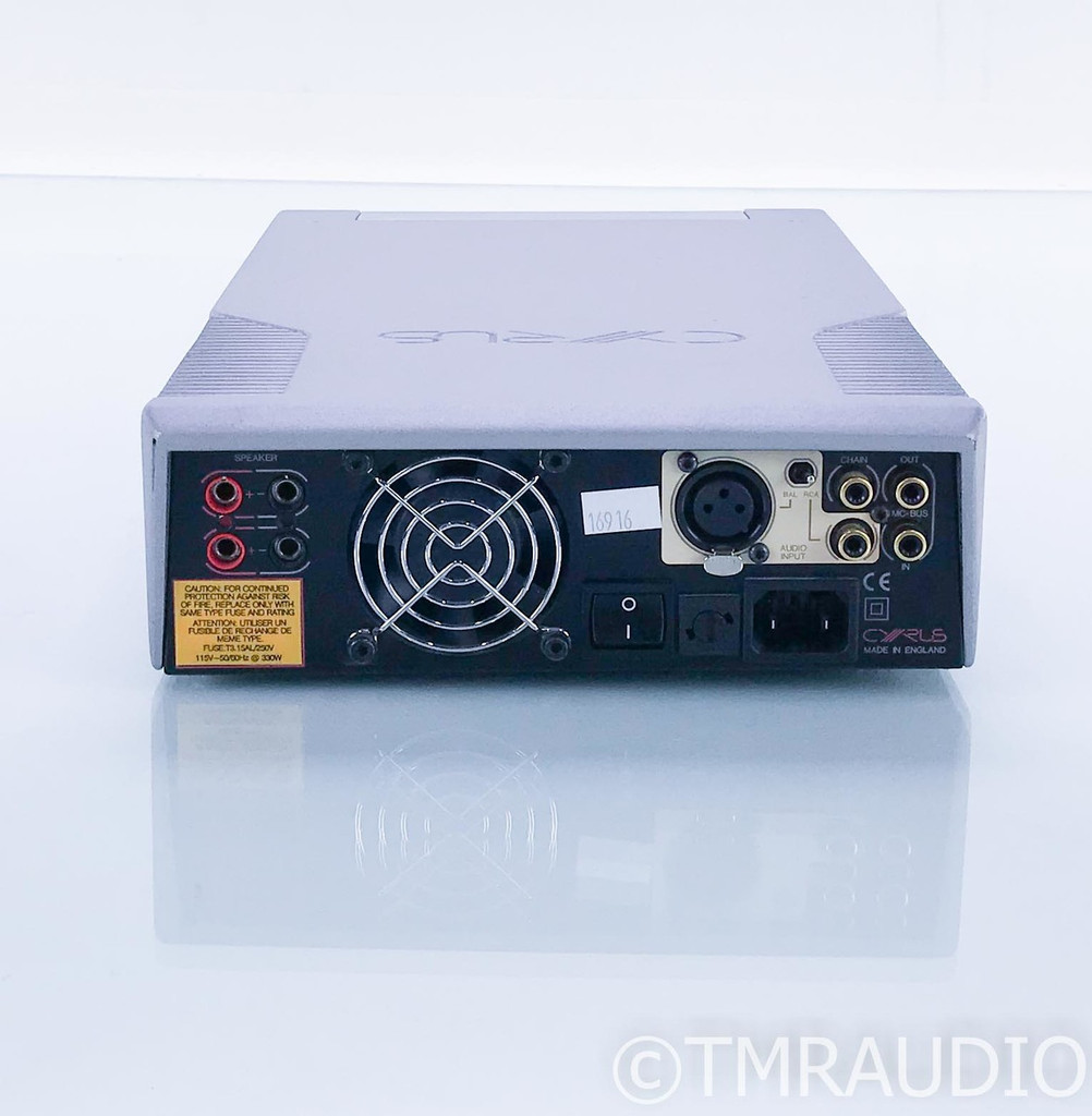 Cyrus Mono X Mono Power Amplifier; Single