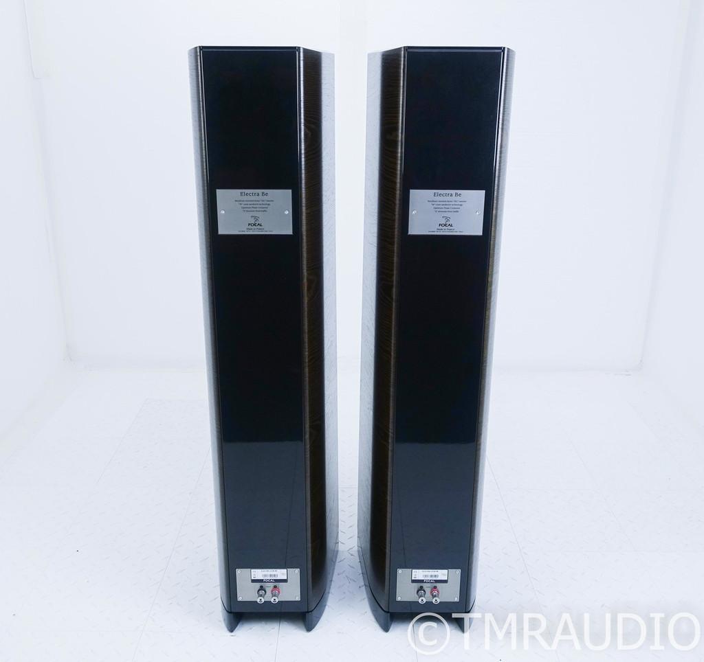 Focal 1038 Be II Floorstanding Speakers; Dark Walnut Pair