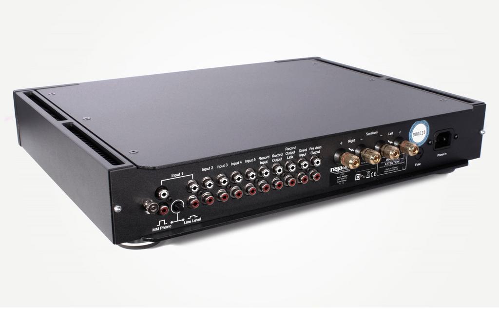 Rega Elicit-R Integrated Amp; Black; New w/ Full Warranty