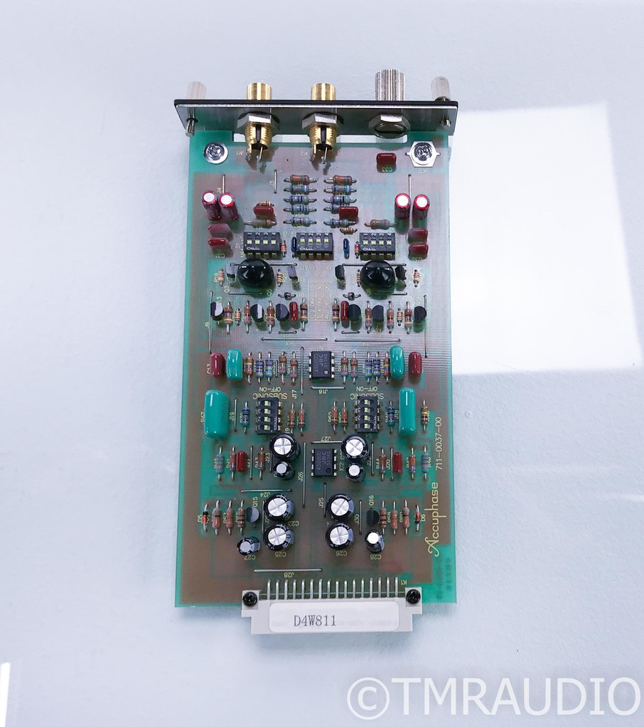 Accuphase Model AD-10 AD MM / MC Phono Stage Card; AD10; Analog Disc Input