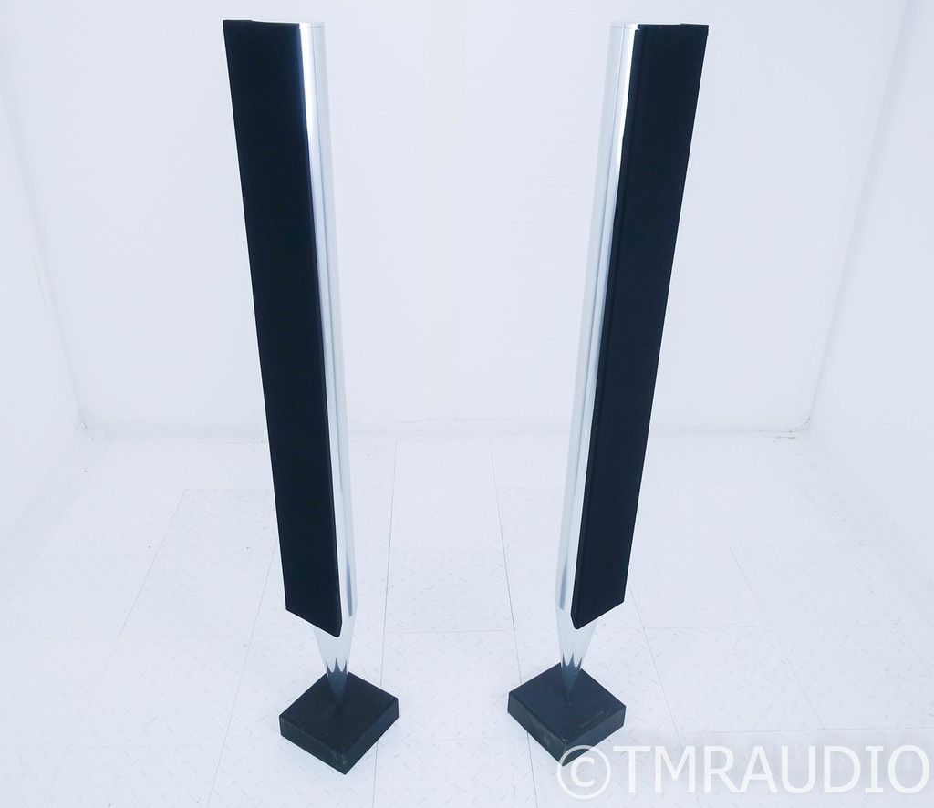 Bang & Olufsen BeoLab 8000 Active Floorstanding Speakers; B&O; Aluminium Pair