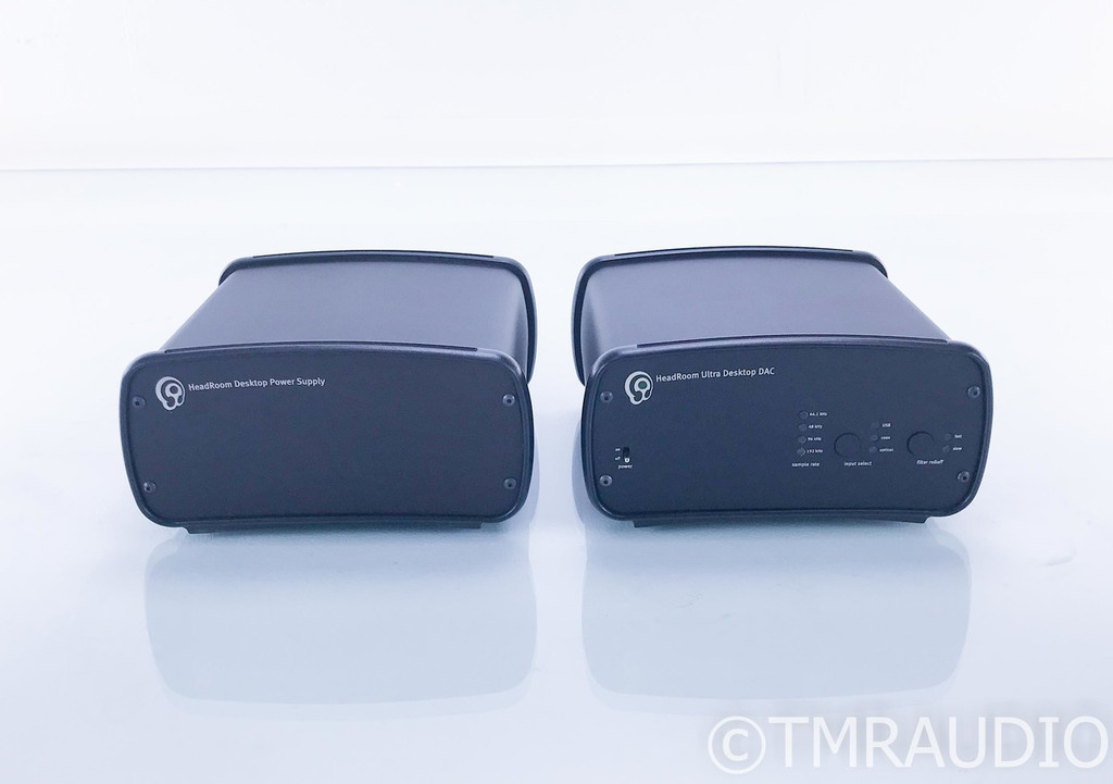 HeadRoom Ultra Desktop DAC; D/A Converter w/ Desktop Power Supply