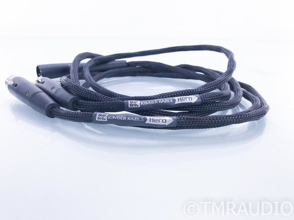 Kimber Kable Hero XLR Cables; 1.5m Pair Balanced Interconnects