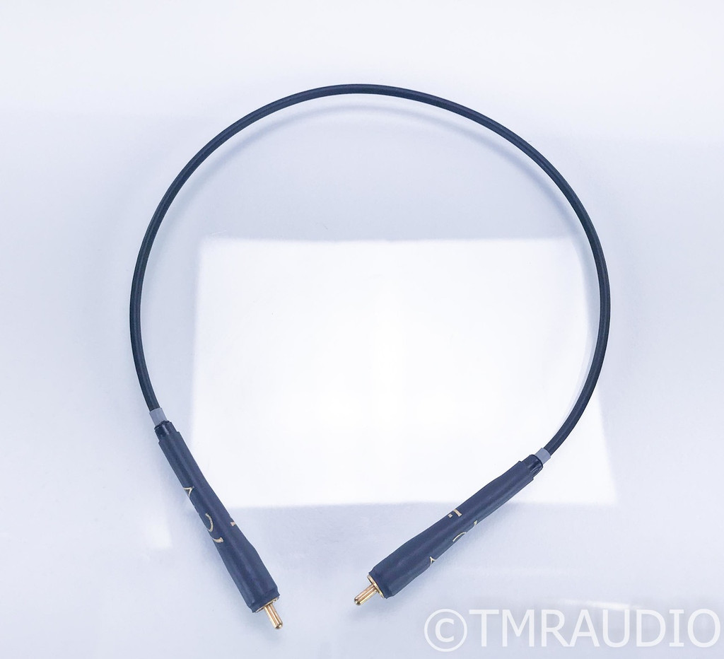 Audience AU24 RCA Digital Coaxial Cable; Single .5m Interconnect