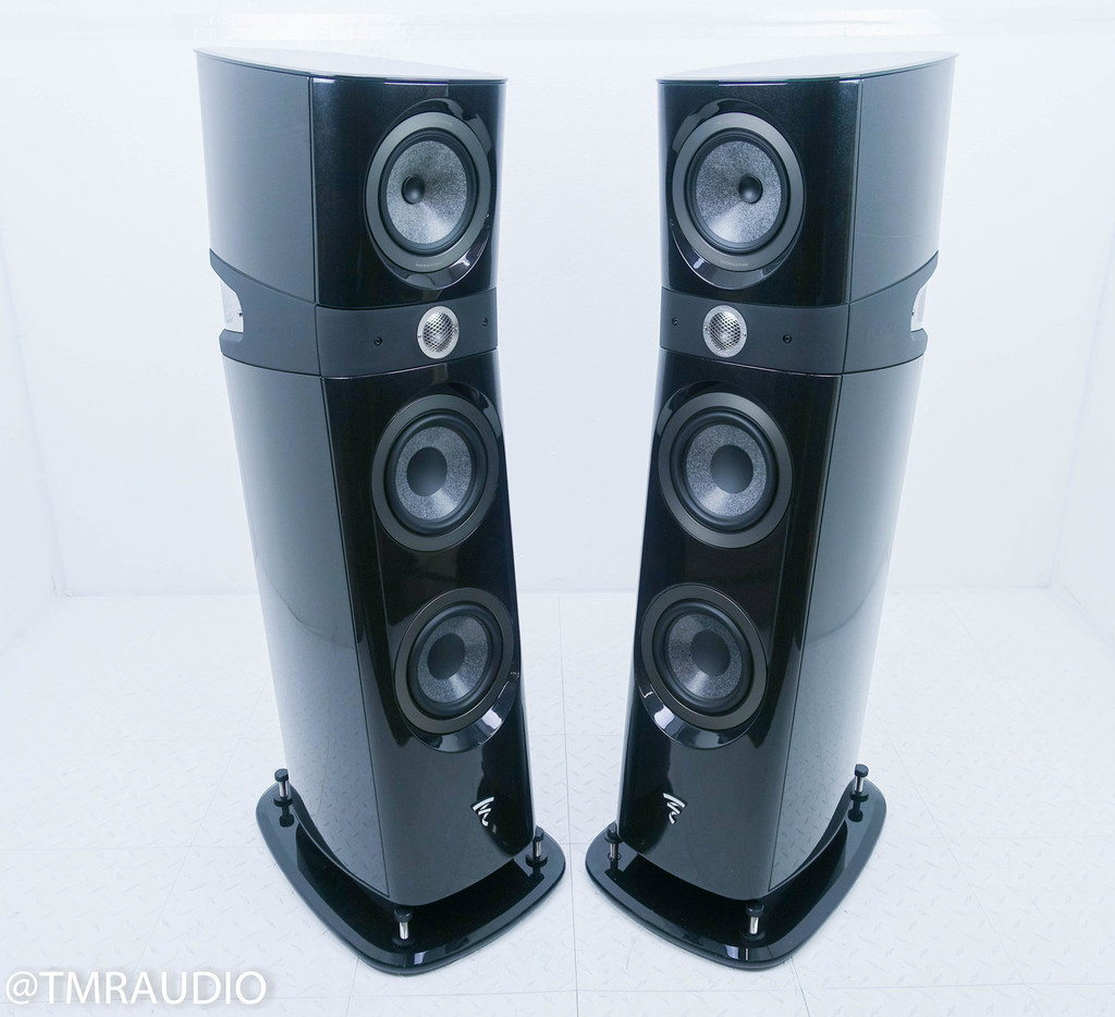 Focal Sopra No. 2 Floorstanding Speakers; N2; Black Lacquer Pair (New/Open Box)