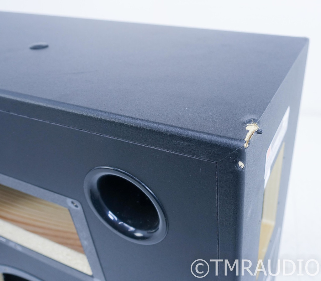 JBL Professional 3677 Speaker Cabinets; Black Pair; AS-IS (Structural Damage)