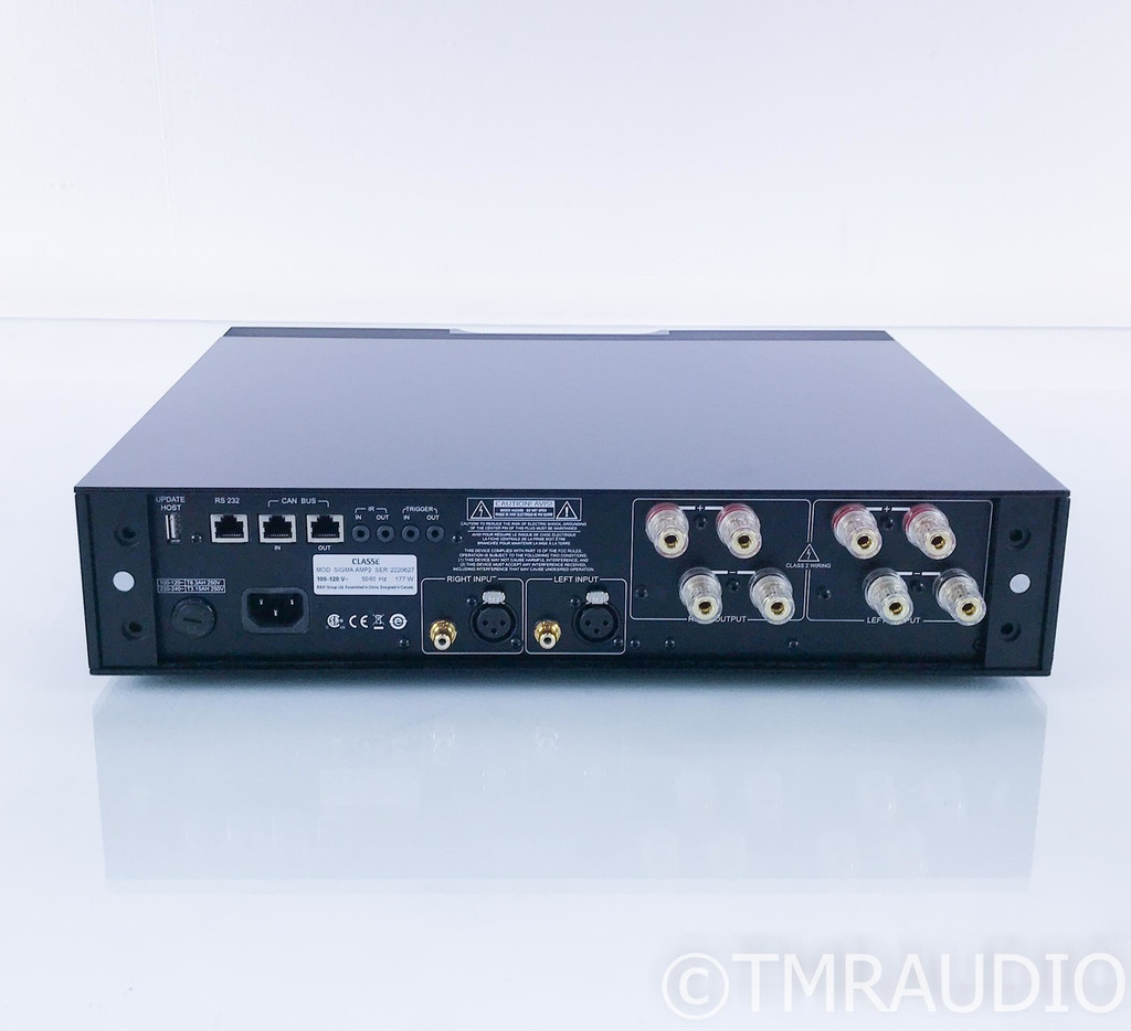 Classe Sigma Amp2 Stereo Power Amplifier