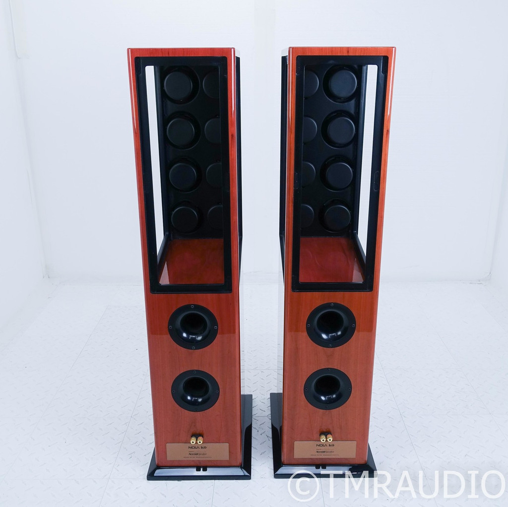 Nola KO Floorstanding Speakers; Cherry Piano Pair