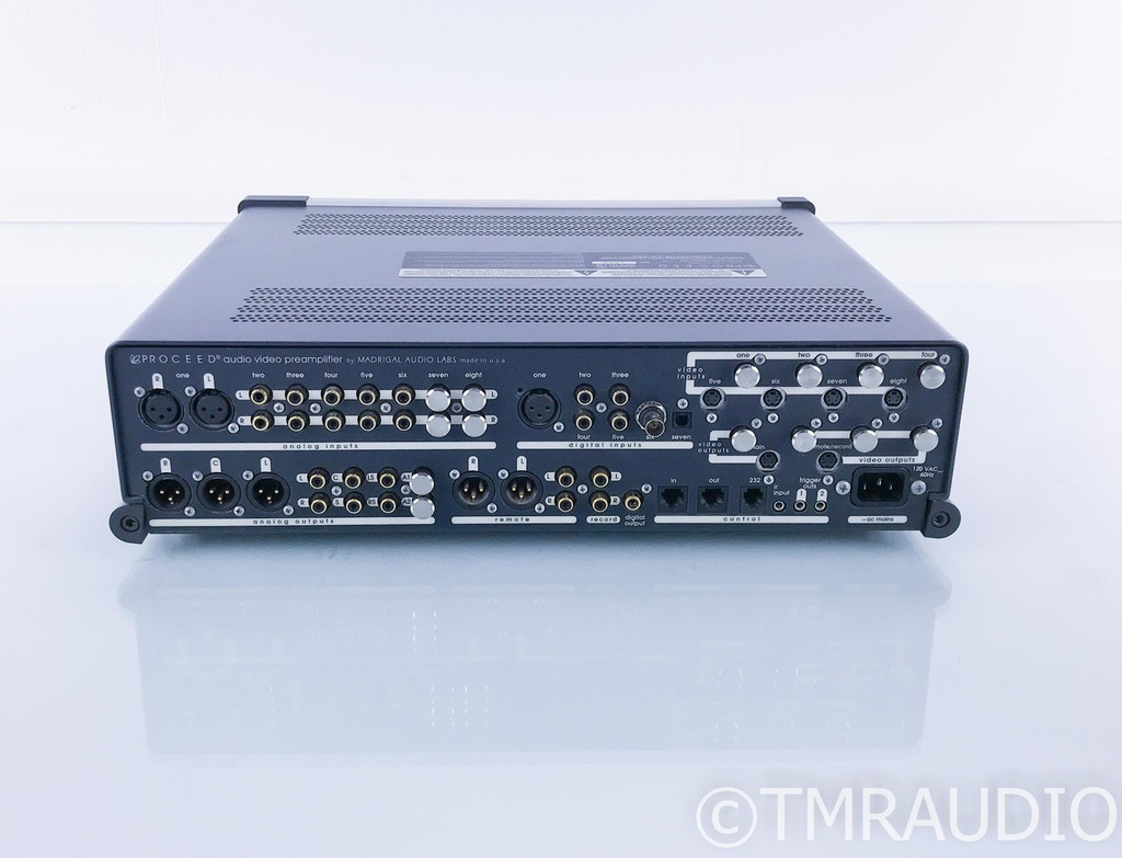 Proceed AVP2 5.1 Channel Home Theater Processor; Preamplifier (No RCA Digital)