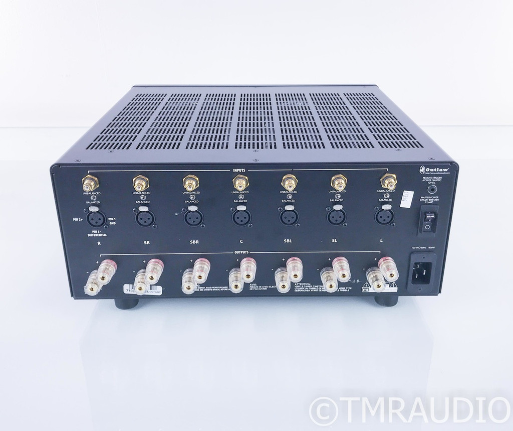 Outlaw Model 7700 7 Channel Power Amplifier