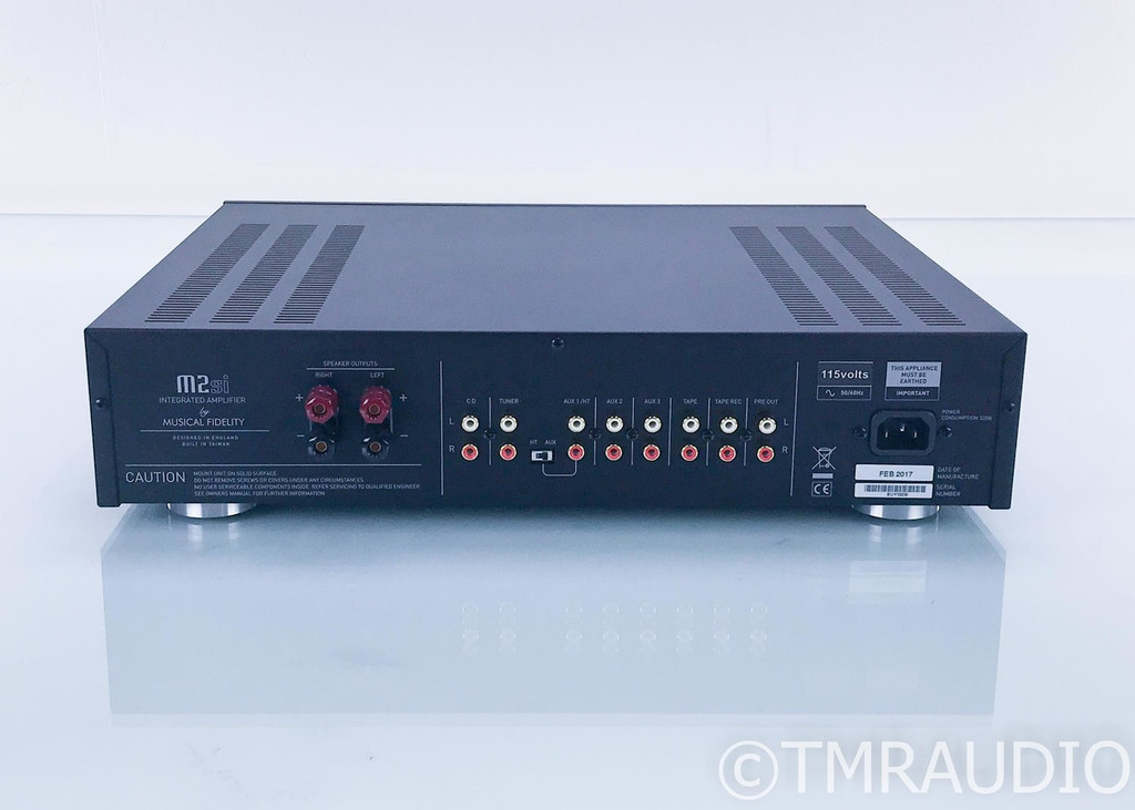 Musical Fidelity M2si Stereo Integrated Amplifier; M-2 si; Black; Remote