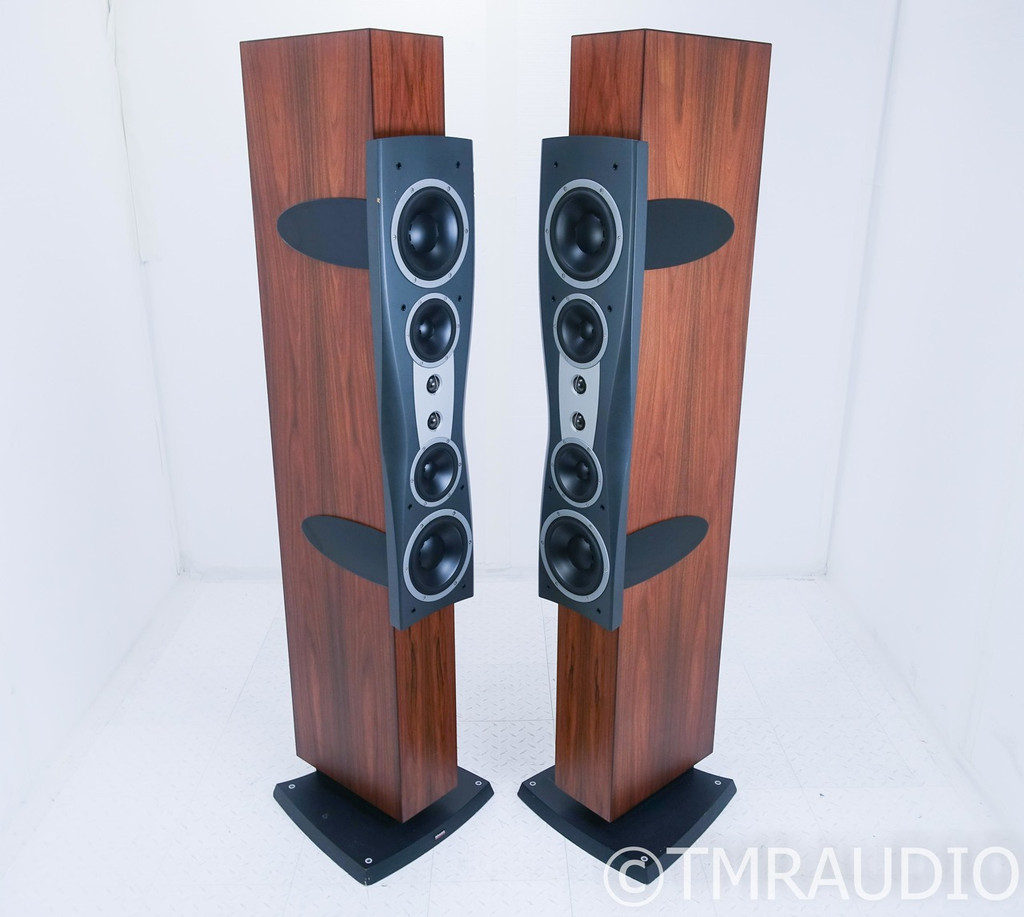 Dynaudio Confidence C4 Floorstanding Speakers; C-4; Walnut Pair