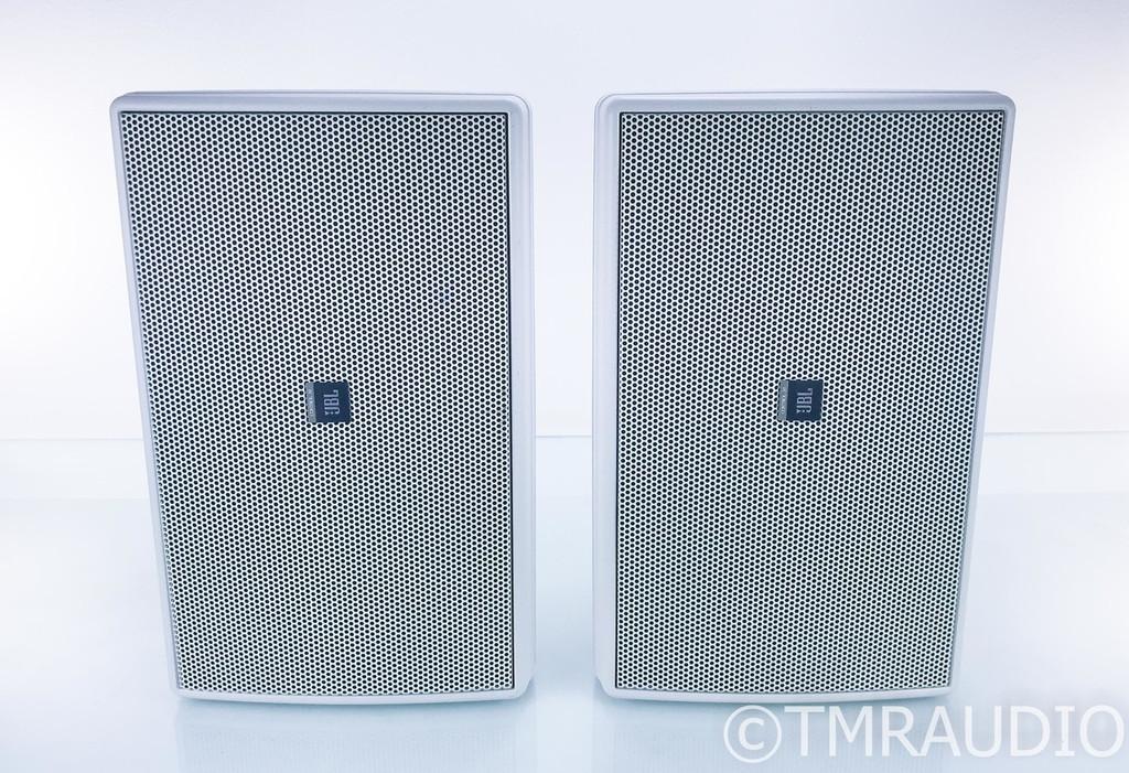 JBL Control 30 Indoor / Outdoor Monitor Speakers; White Pair