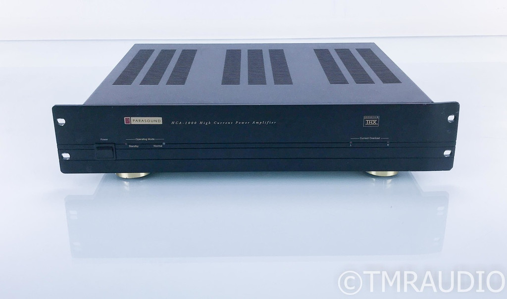 Parasound HCA-1000 Stereo Power Amplifier; HCA1000