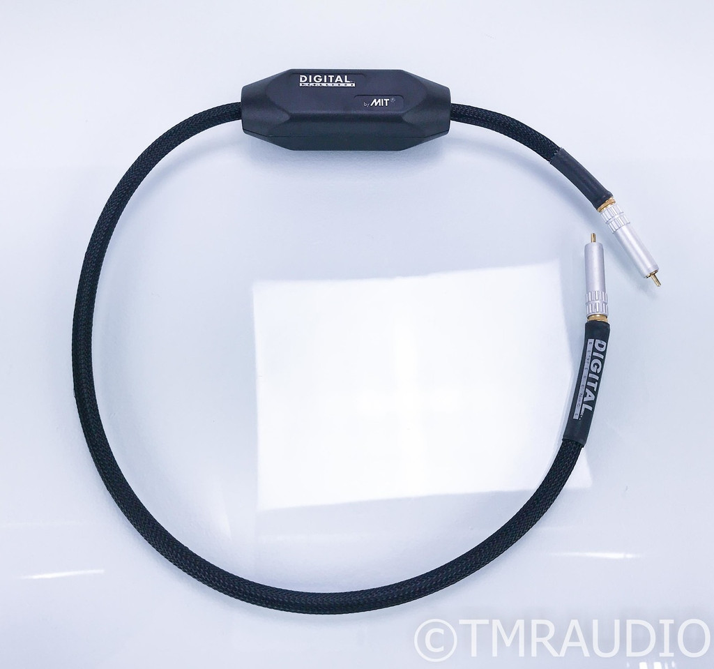 MIT Digital Reference RCA Coaxial Digital Cable; Single 1m Interconnect