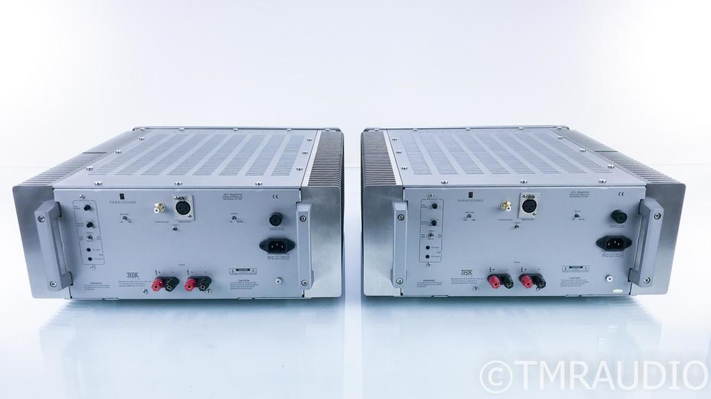 Parasound JC1 Mono Power Amplifier; Silver Pair; JC-1