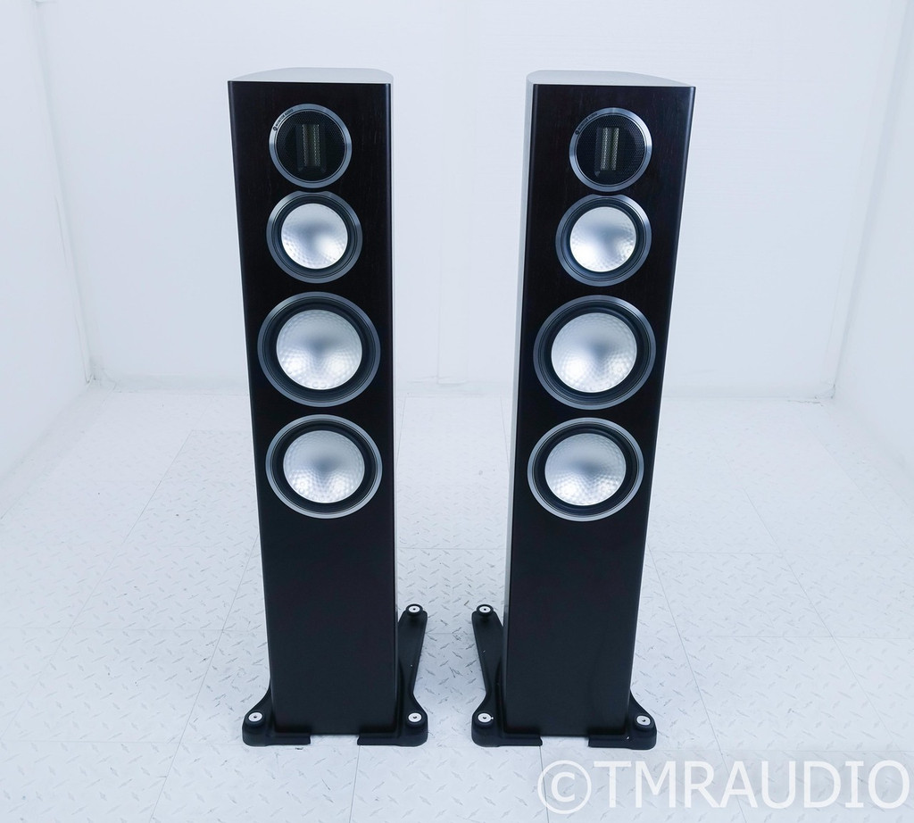 Monitor Audio Gold 300 Floorstanding Speakers; Dark Walnut Pair (SOLD)