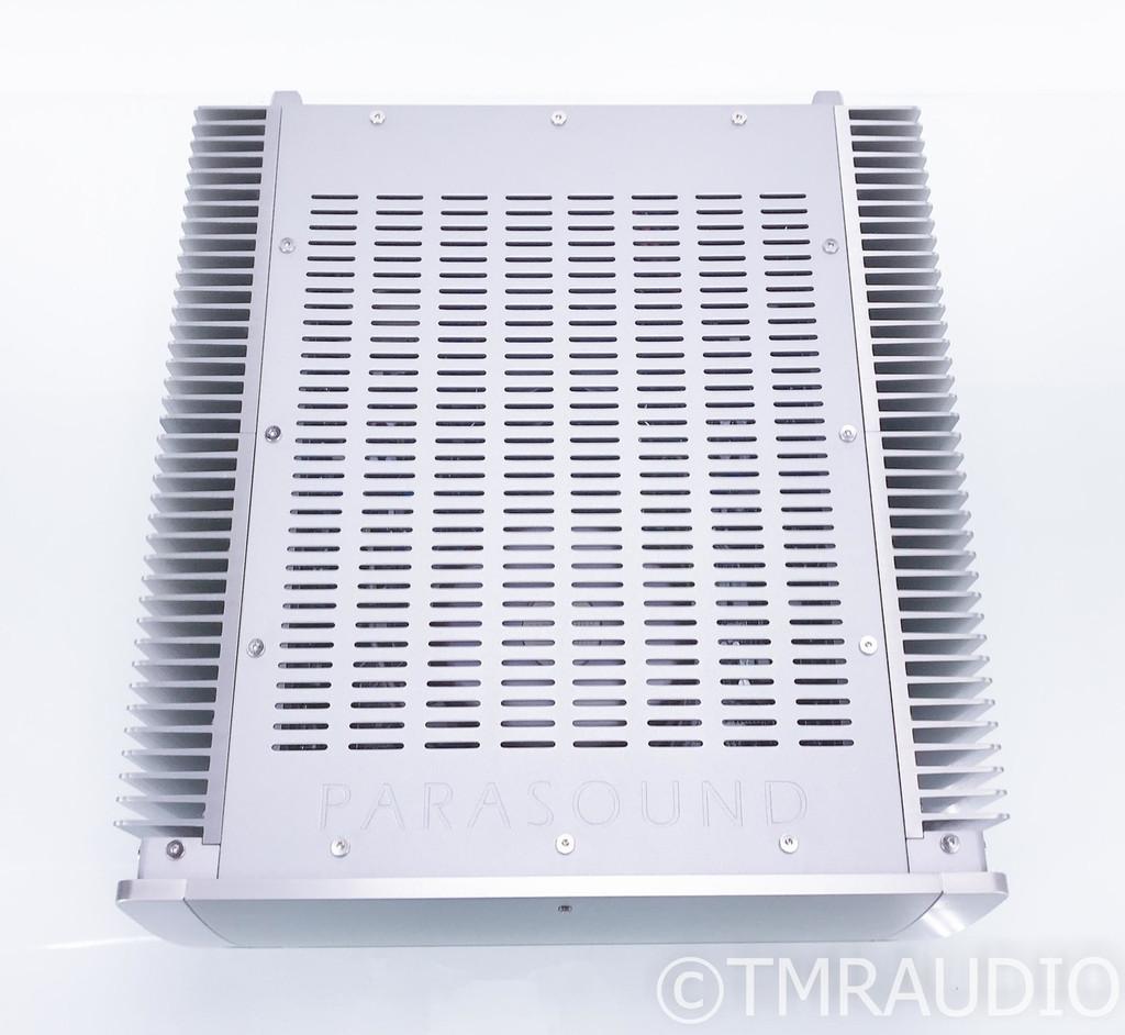Parasound Halo A21 Stereo Power Amplifier; A-21; Silver