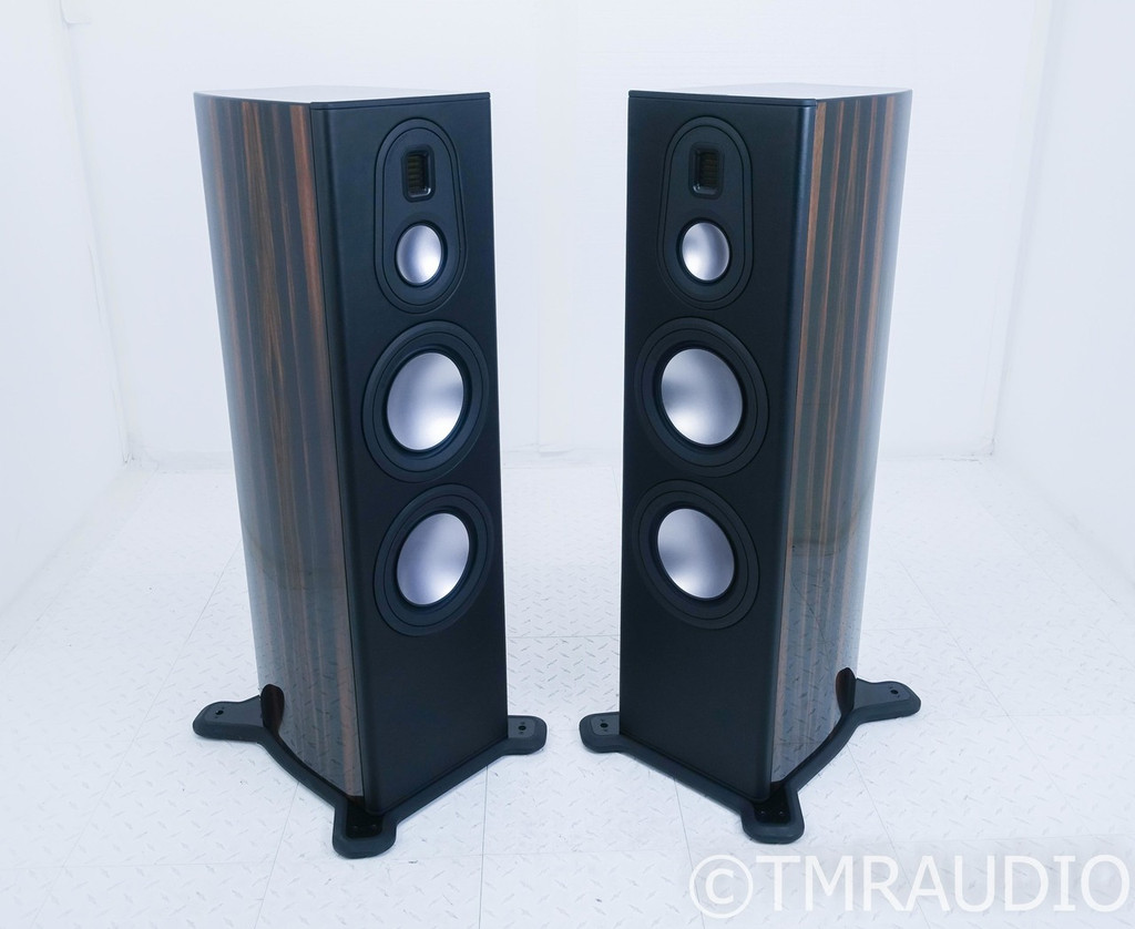 Monitor Audio Platinum 300 II Floorstanding Speakers; PL300 II; Ebony Pair