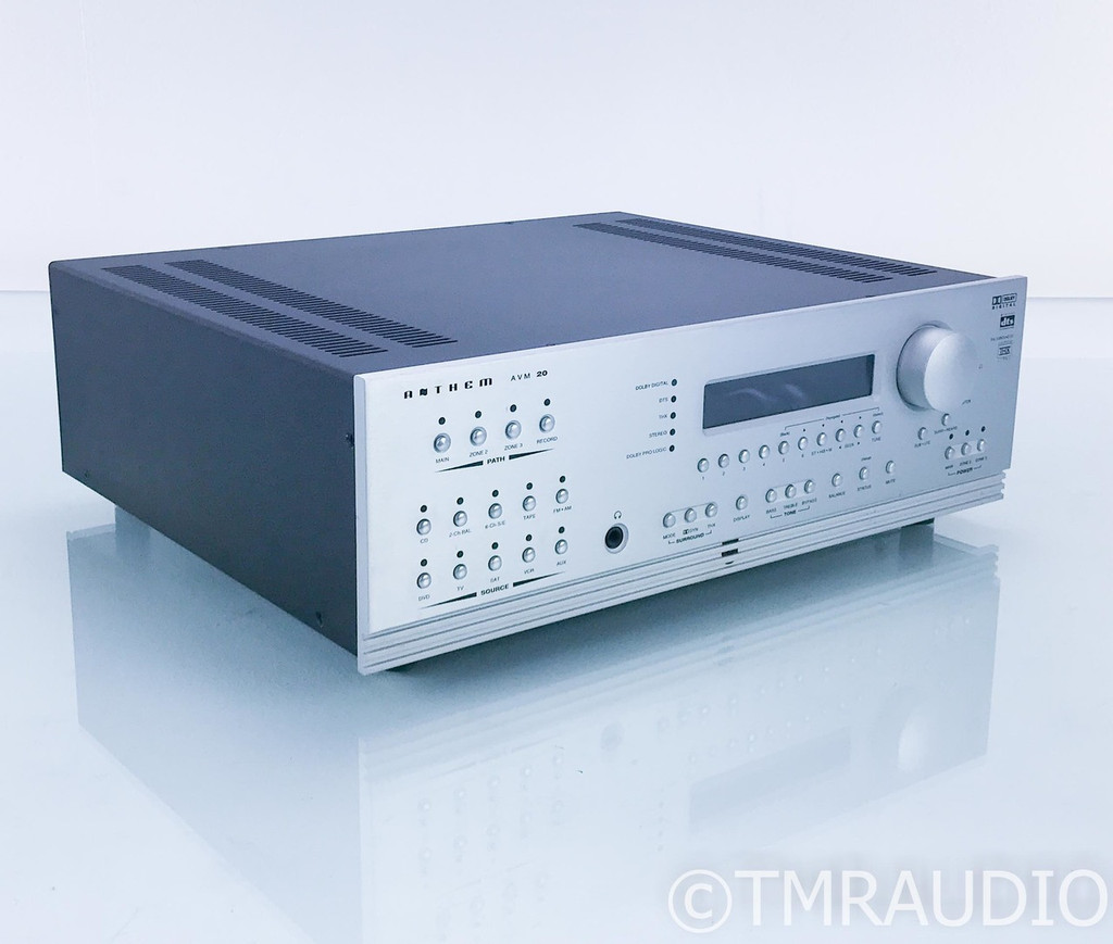 Anthem AVM 20 7.2 Channel Home Theater Processor; AVM20; AS-IS (Bad Volume Knob)