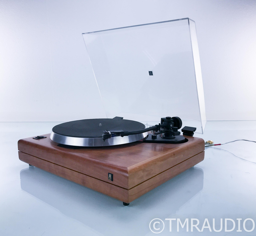 Acoustic Research ES-1 Turntable; Sumiko Premier MMT; Shure V15 Type V-MR