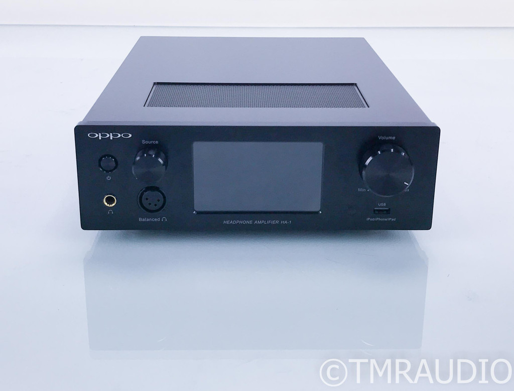 Oppo HA-1 Balanced Headphone Amplifier / DAC; HA1; USB; Bluetooth; Remote