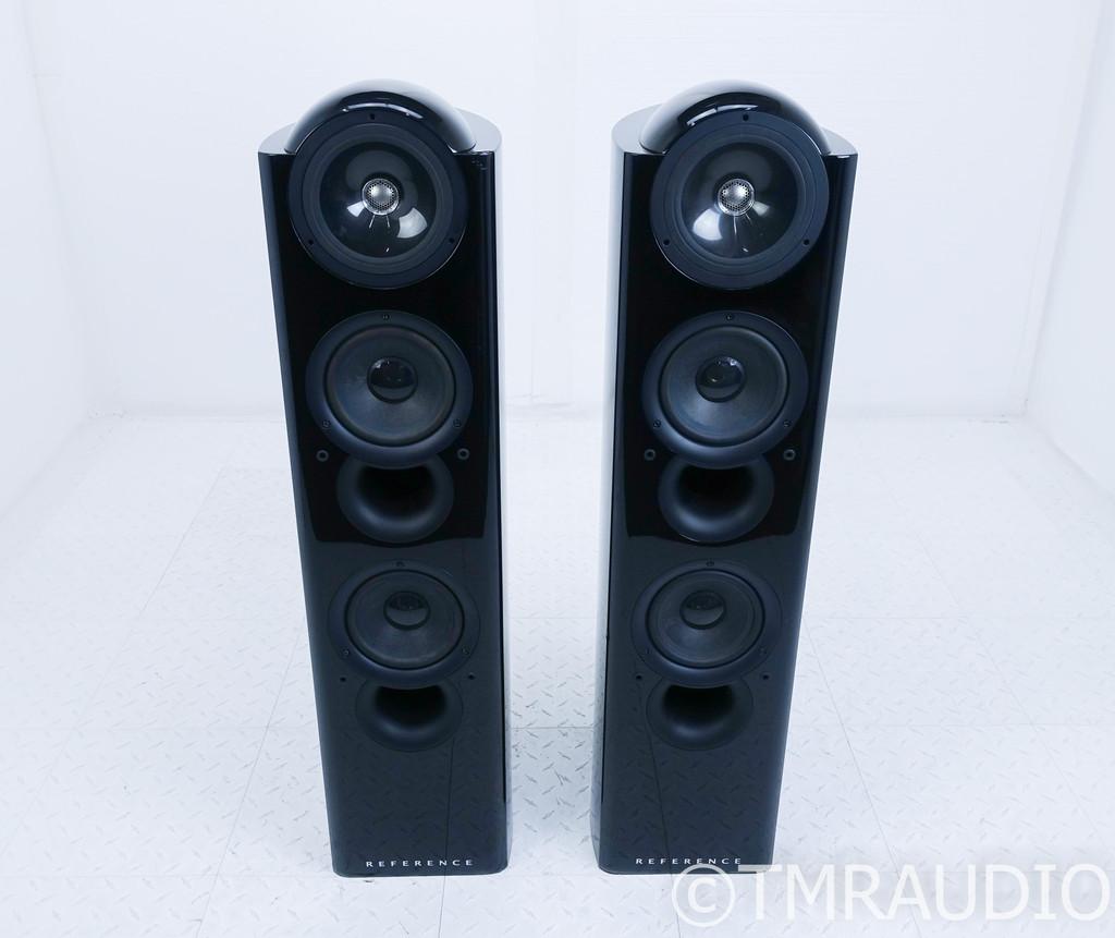 KEF Reference 203/2 Floorstanding Speakers; Black Gloss Pair