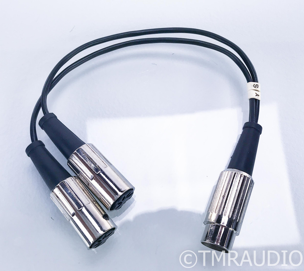 Meridian Digital Comms Cable Y Splitter; 0.3m Interconnect; 5-Pin DIN M -> F
