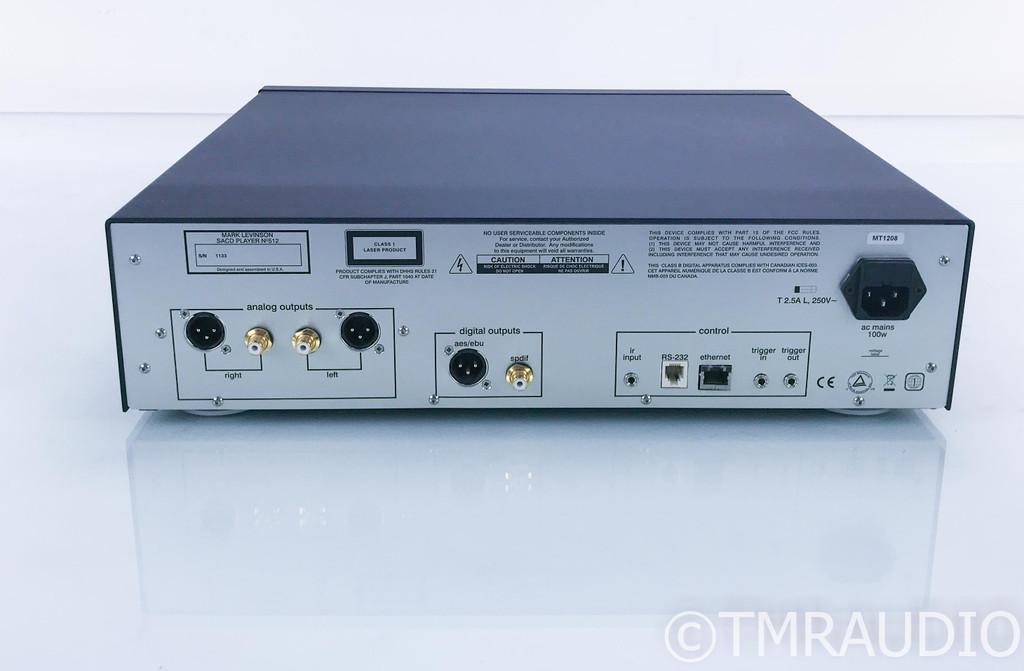 Mark Levinson No. 512 SACD / CD Player; Remote