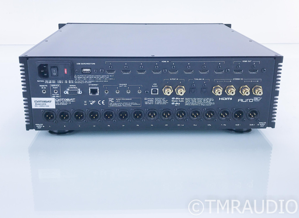 Datasat LS10 13.2 Channel Home Theater Processor; Preamplifier; LS-10; Remote