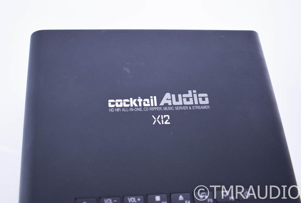 Cocktail Audio X12 Stereo Integrated Amplifier / Network Streamer; 500MB HDD