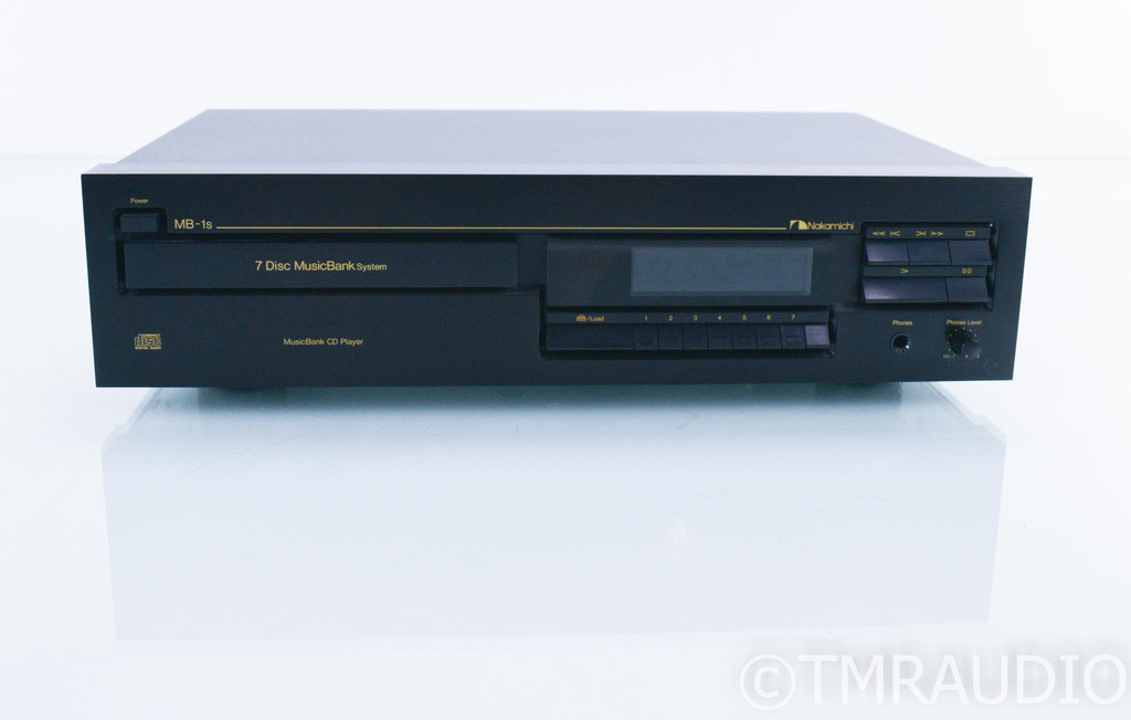 Nakamichi MusicBank MB-1S 7 Disk CD Player / Changer; MB1S (No Remote)
