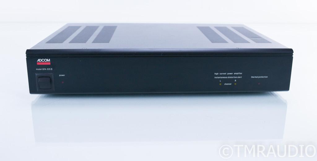 Adcom GFA-535 II Stereo Power Amplifier; GFA535 MKII