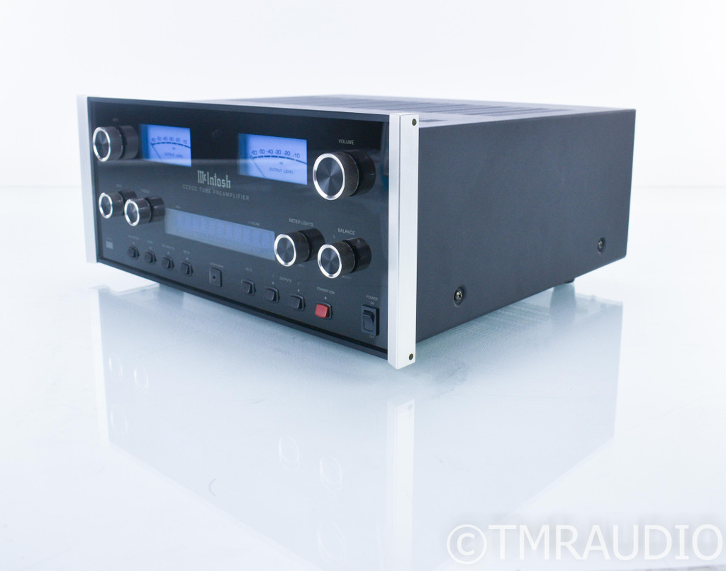 McIntosh C2200 Stereo Tube Preamplifier; C-2200; Remote; MM Phono
