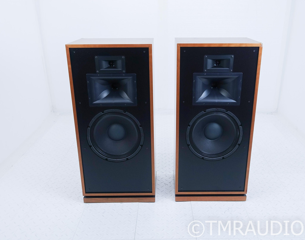 Klipsch Forte III Floorstanding Speakers; Natural Cherry Pair; Forte 3
