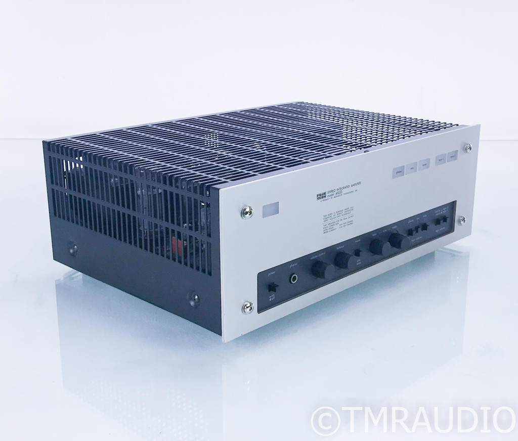 Fujitech A1033 Stereo Tube Integrated Amplifier; MM Phono; Luxman LX33 (SOLD)