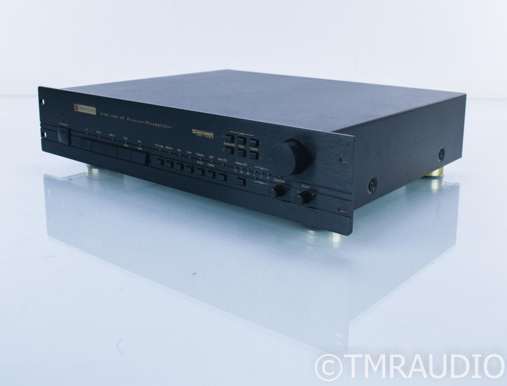 Parasound P/SP-1000 5.1 Channel Home Theater Processor; Preamplifier
