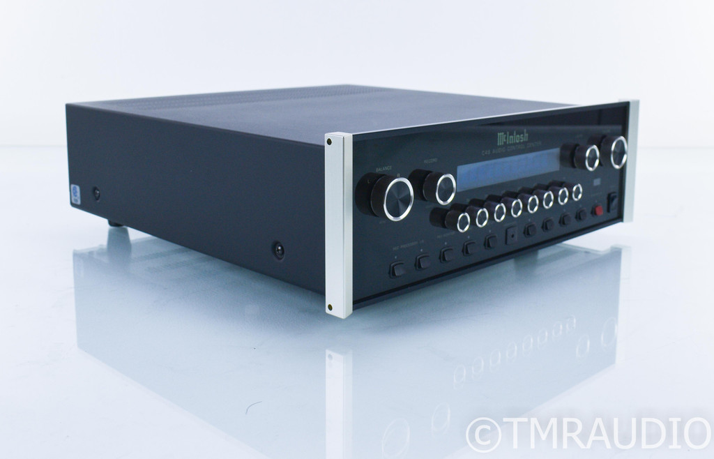 McIntosh C46 Stereo Preamplifier; C-46; Remote (SOLD)