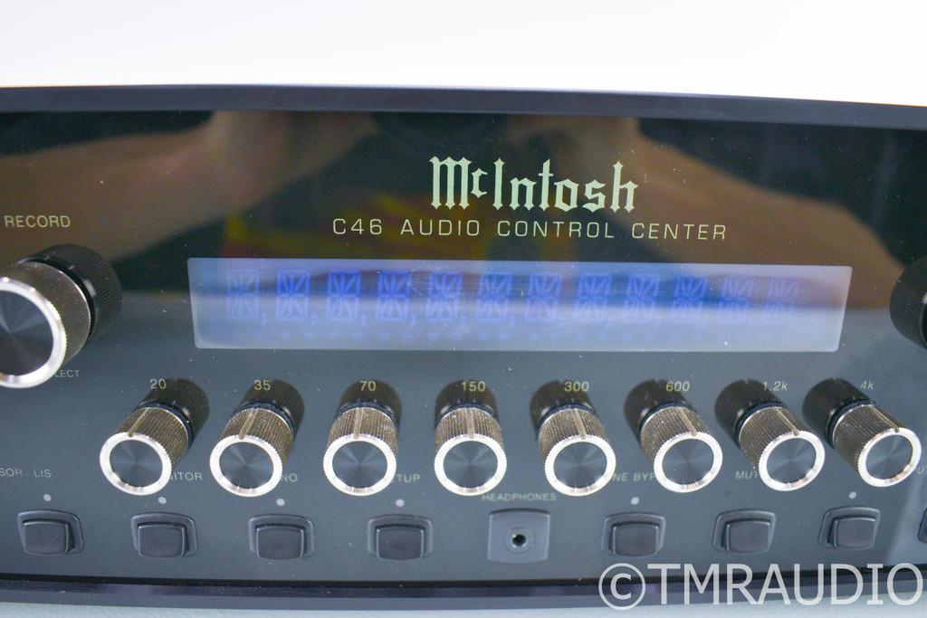 McIntosh C46 Stereo Preamplifier; C-46; Remote