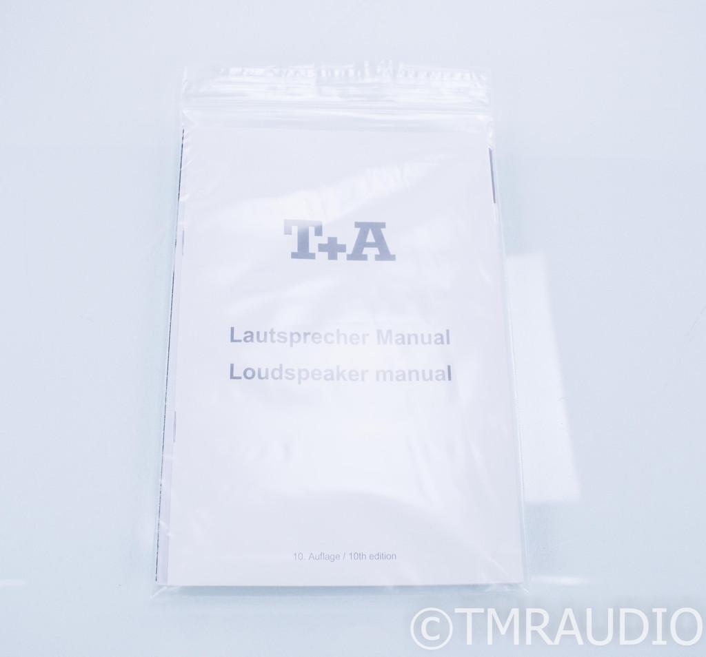 T+A B8 Bookshelf Speakers; Black & Silver Pair; B-8