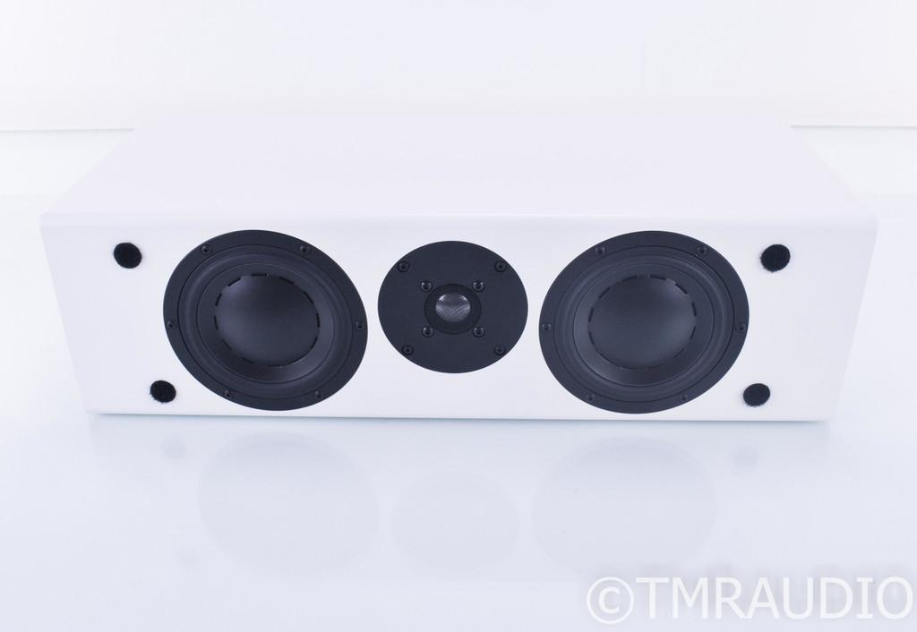 Totem Model 1 Center Signature Center Channel Speaker; Satin White