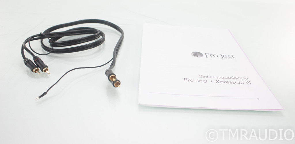 Pro-Ject 1-Xpression III Turntable; Sumiko Oyster Cartridge