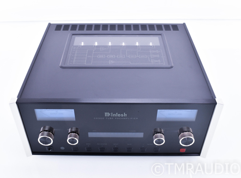 McIntosh C2300 Stereo Tube Preamplifier; C-2300 (No Remote)