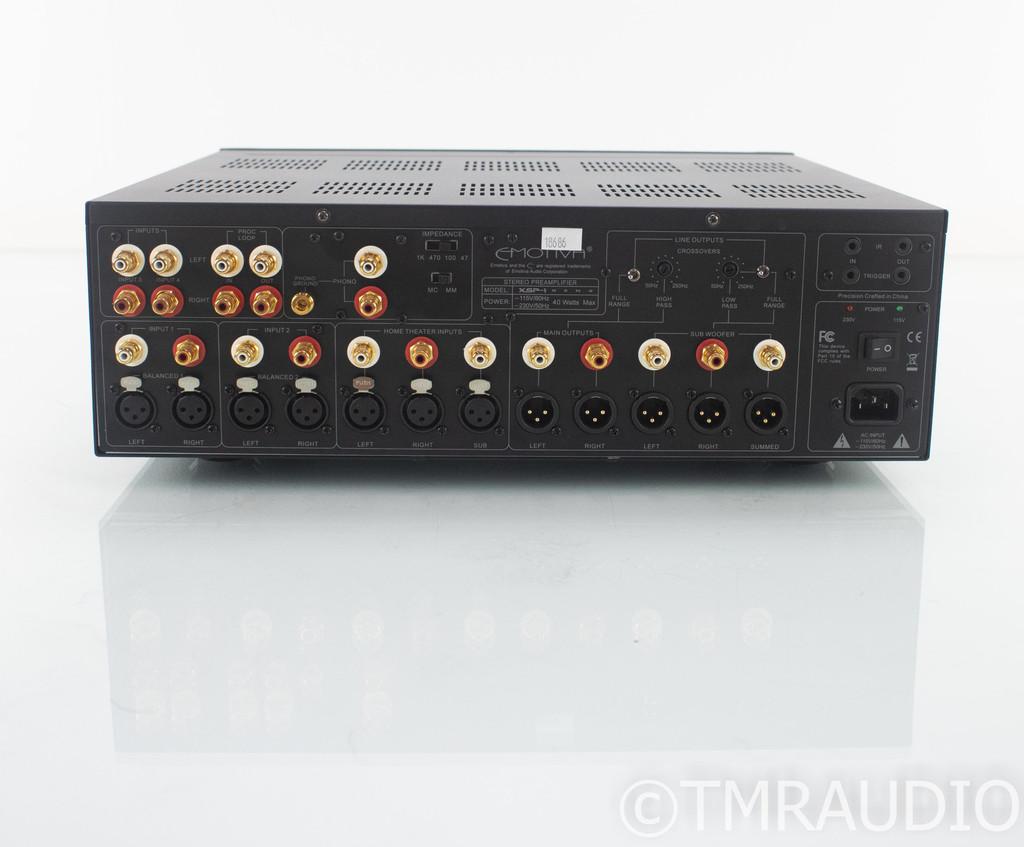Emotiva XSP-1 Gen 2 2.1 Channel Preamplifier; XSP1; Remote