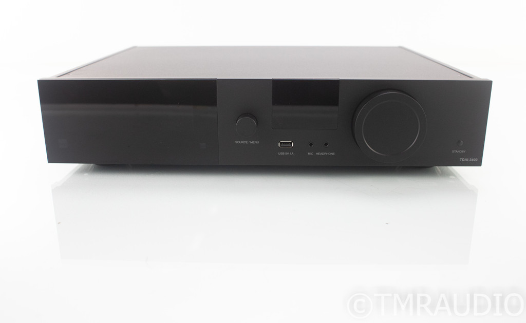 Lyngdorf TDAI-3400 Stereo Integrated Amplifier; TDAI3400; Room Correction